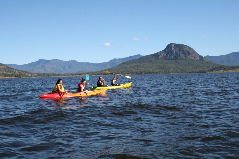 Water Activities at Camp Moogerah
